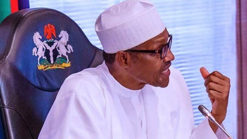 President Muhammadu Buhari seeks for the approval of payment of money to five states in Nigeria