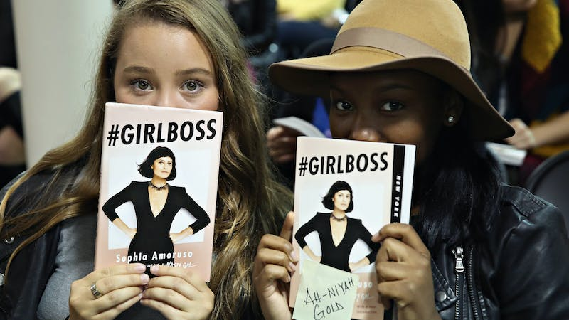 Picture of girl boss aspiring for greatness
