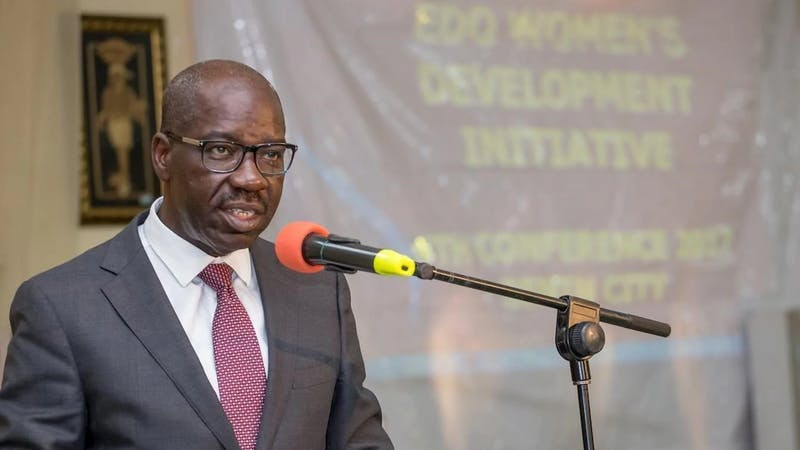 The Governor of Edo state, Godwin Obaseki