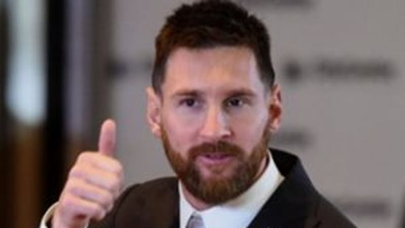 Lionel Andres Messi is an Argentine international player who currently plays for FC Barcelona and one of the world's best players.