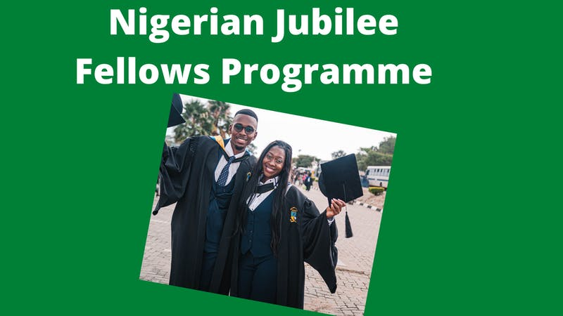 Nigerian Jubilee Fellows Programme to create job opportunities for young graduates