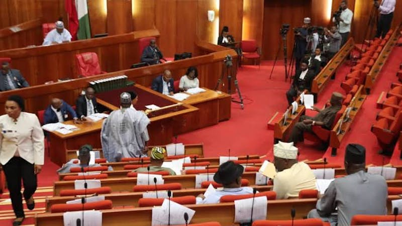 Meeting session of the National Assembly (NASS)