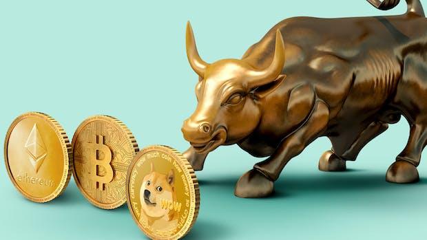 Bullish in Cryptocurrency.