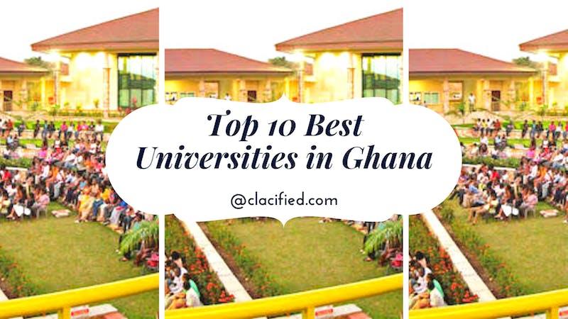 Top 10 best universities in Ghana