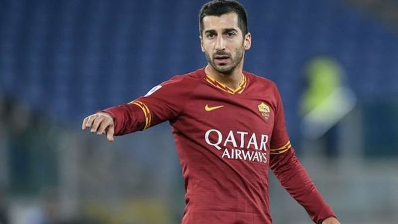 Henrikh Mkhitaryan has joined A.S Roma on a permanent deal