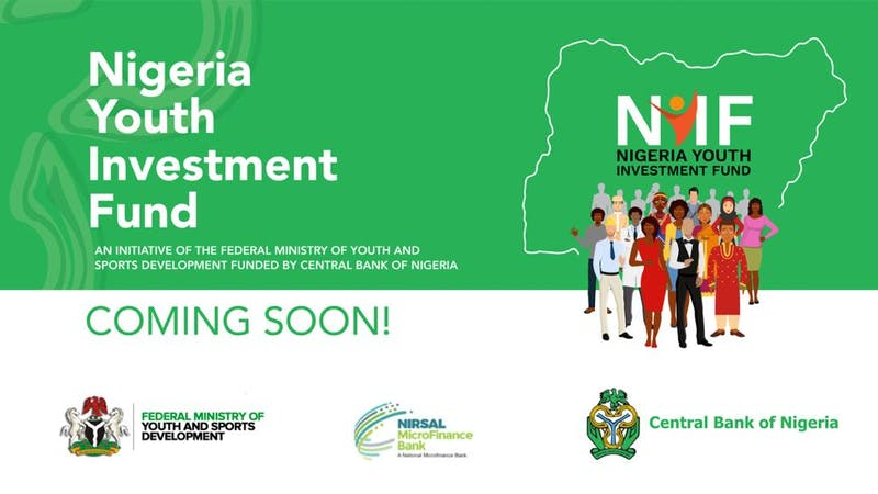 The Federal Ministry of Youth and Sports Development in collaboration with the Central Bank of Nigeria soon to launch the Nigeria Youth Investment Fund
