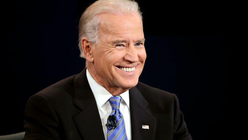 Former U.S Vice president Joe Biden.