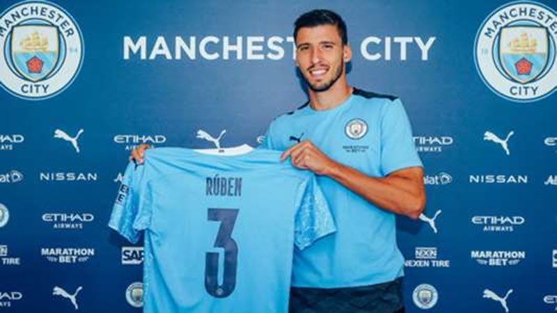 Manchester City has completed the signing of Ruben Dias from Benfica
