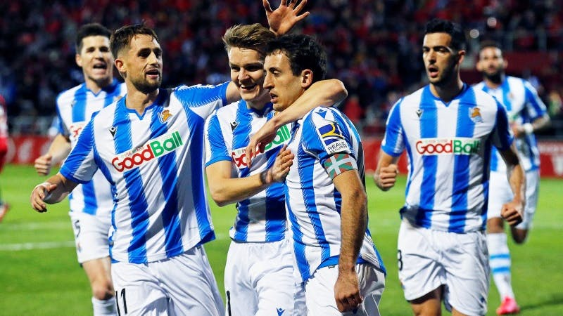 Real Sociedad continues to top the La Liga table following their 2-0 win against Granada