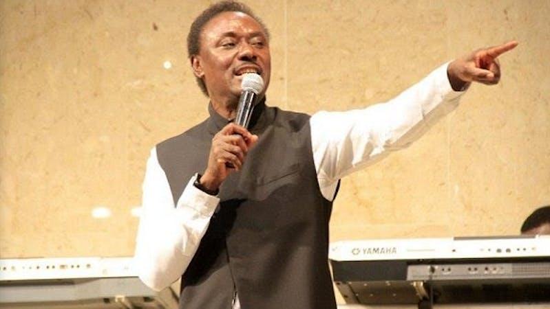 The founder of the Household of God Church, Pastor Chris Okotie