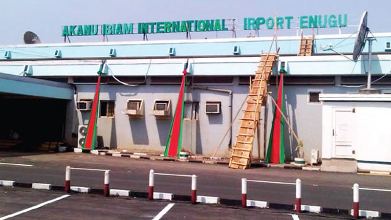 Enugu Akanu Ibiam International Airport set to reopen as the Minister of Aviation, Hadi Sirika relocated to the state
