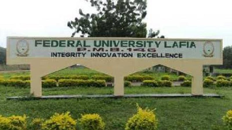 The Federal University of Lafia has released its cut-off mark for the 2020/2021 academic session