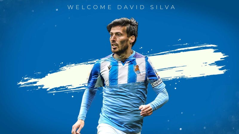 Lazio unveils the signing of David Silva on a 3 year deal from Manchester City