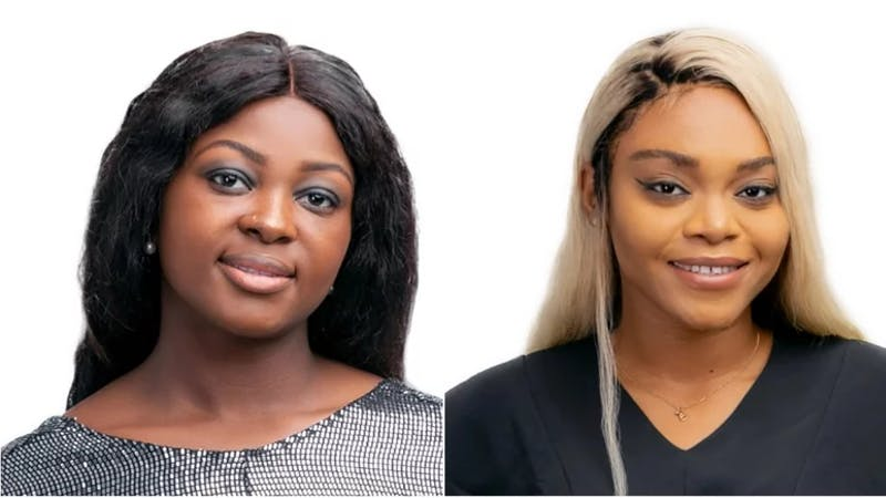 Ka3na and Lilo, the first BBnaija lockdown housemates to be evicted from the show