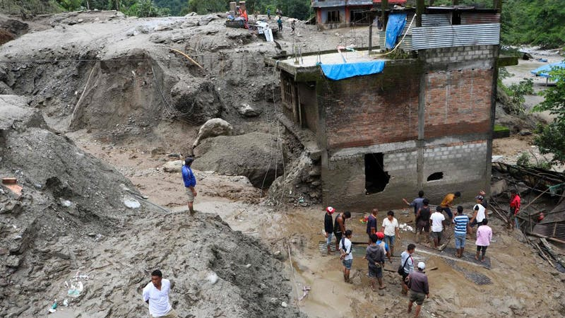 Nepal landslides set people homeless as they are outside with no shelter