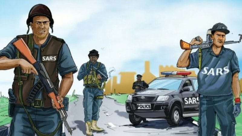 SARS the notorious police unit has been banned from carrying out stop and search duties.
