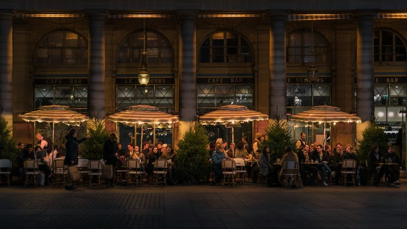 Restaurants in France serving food out in terraces might be faced with challenges as the nation would be banning the use of outdoor heaters in restaurants and cafes.