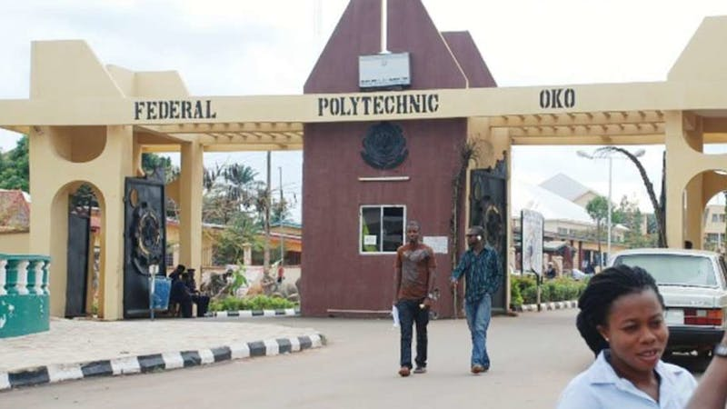Oko Poly has released its 2020 Post-UTME cut-off mark and registration details