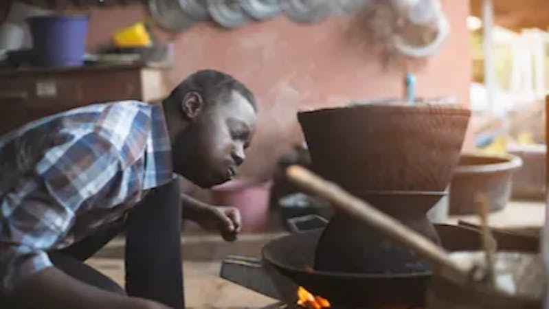 There has been this African notion, more like a culture that every woman belongs to the kitchen while the men go out there to get things done. It is a weak ideology that needs to he debunked.