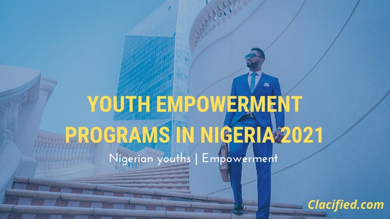 Youth empowerment programmes in Nigeria in 2021