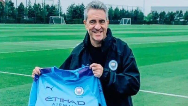 Manchester City new assistant Juan Manuel Lilo