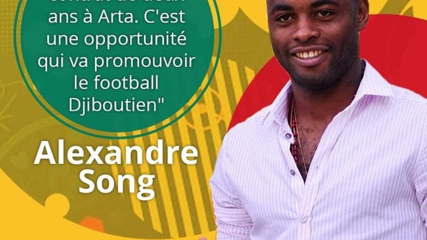 Cameroonian International Alex Song joins Djibouti Premier League side AS Arta