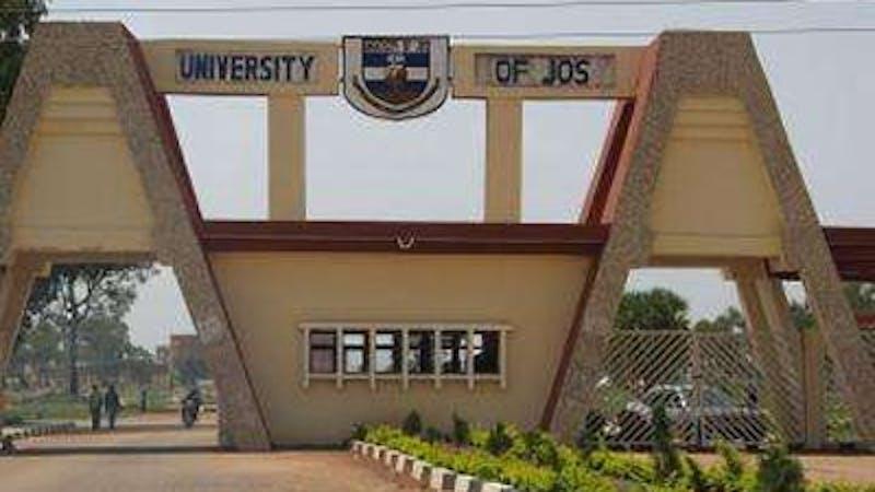 Gate leading into the premises of University of Jos (UNIJOS), Plateau state