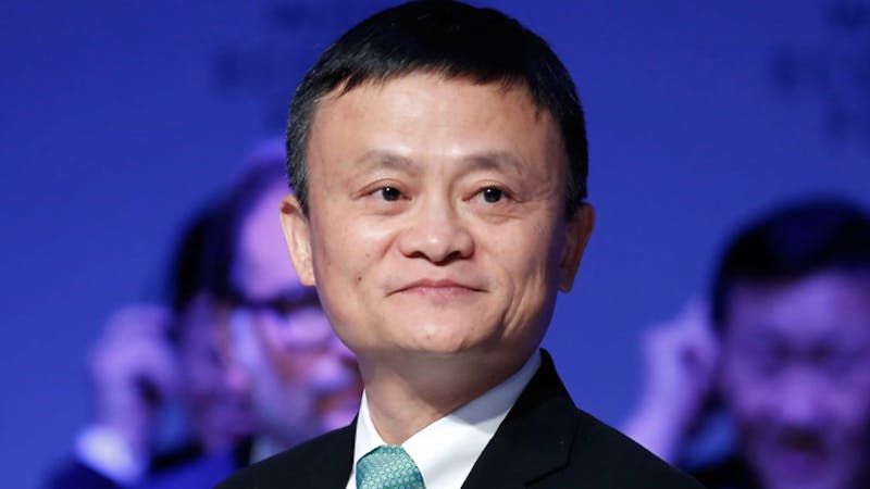 The cofounder and former executive chairman of Alibaba group, Jack Ma