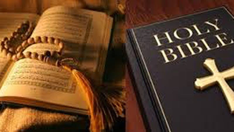 Quran and Holy bible