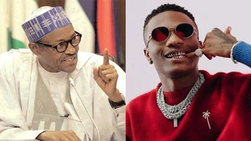 Wizkid demands for a better governance from President Buhari, Lauretta Onochie attacks him (Wizkid) for calling Buhari an old man in his post