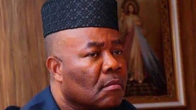 The Minister of Niger Delta Affairs, Godswill Akpabio
