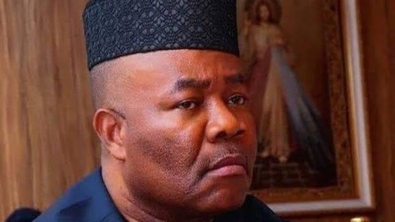 The Minister of Niger Delta Affairs, Godswill Akpabio