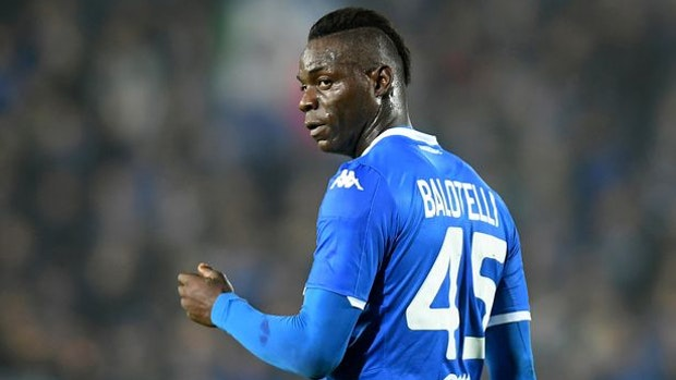 Former Manchester City striker Mario Balotelli sacked by Brescia