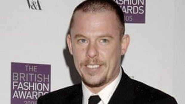 The renowned fashion designer, Alexander McQueen