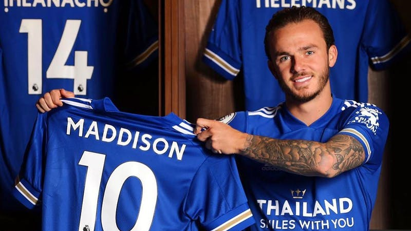 James Madison has signed a new four-year contract with Leicester City