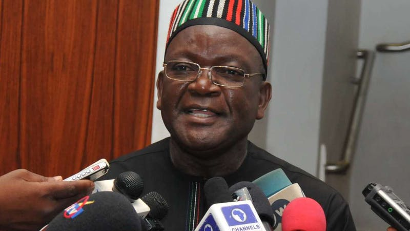 Benue Governor  Samuel Ortom