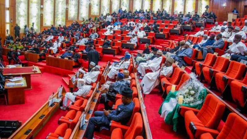 Image showing state representatives inside Nigeria's National Assembly