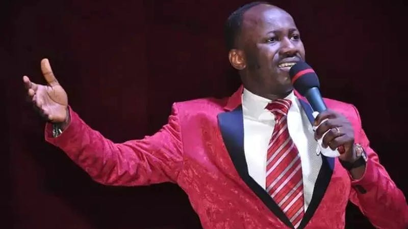 Apostle Suleman releases shocking prophesis for 2021 involving Osibanjo, others