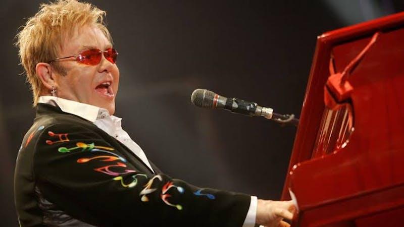 British Singer, composer and pianist, Elton John