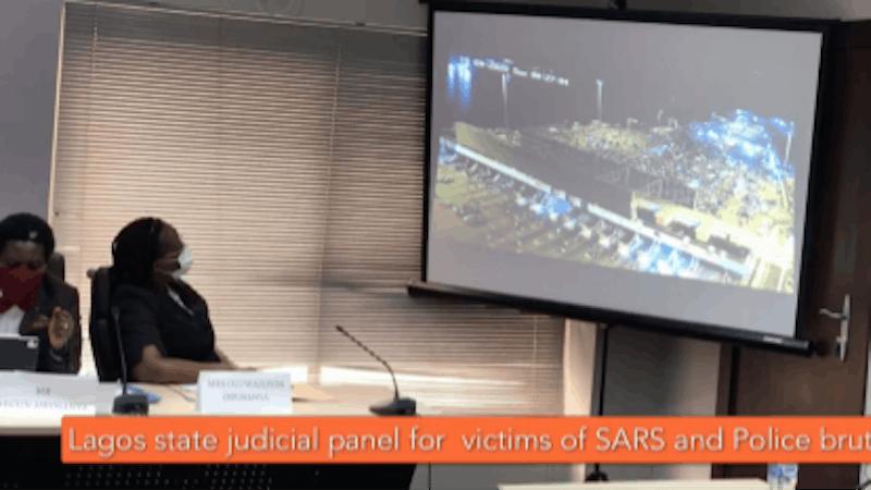 #EndSARS: Lagos Judicial Panel views CCTv footage of Lekki Toll Gate shooting