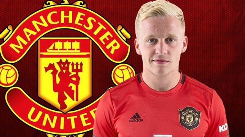 Manchester United complete the signing of Donny Van de Beek from Ajax