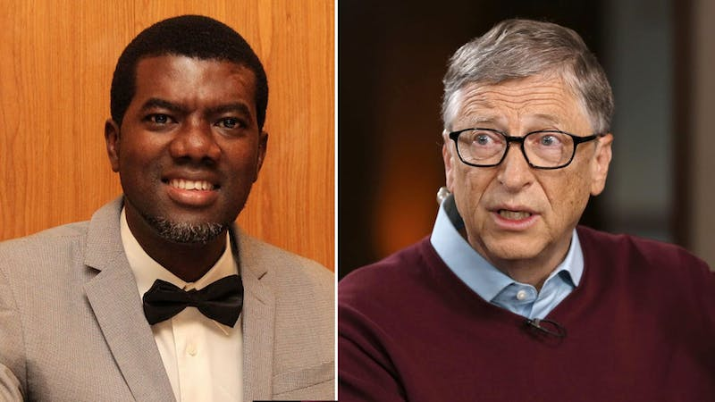 Reno Omokri and Bill Gates