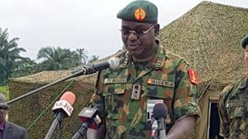 Lekki shootings: Buratai ordered deployment of trainee soldiers - General