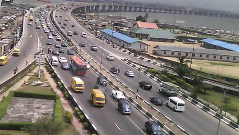 Traffic on the third mainland bridge lagos