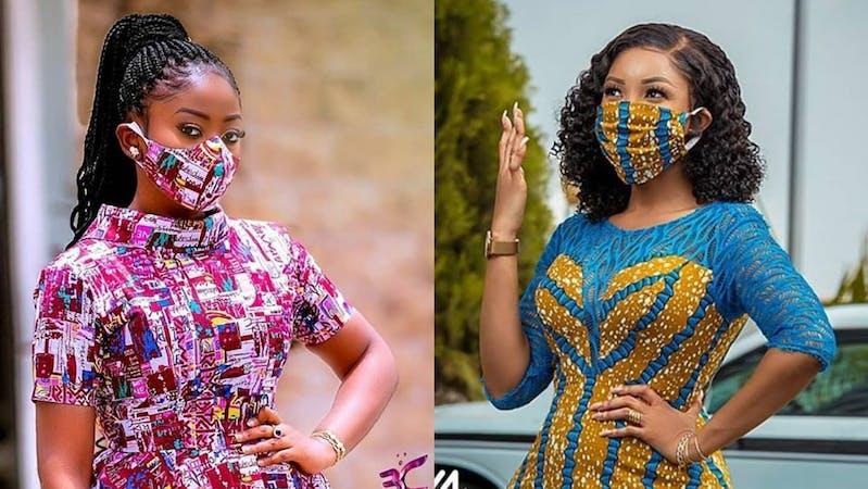African female fashion of COVID-19