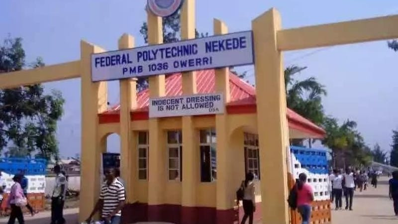 Federal Polytechnic Nekede has released its 2020 Post-UTME cut-off mark and registration details.