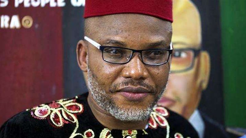 Nnamdi Kanu, the leader of the indigenous people of Biafra