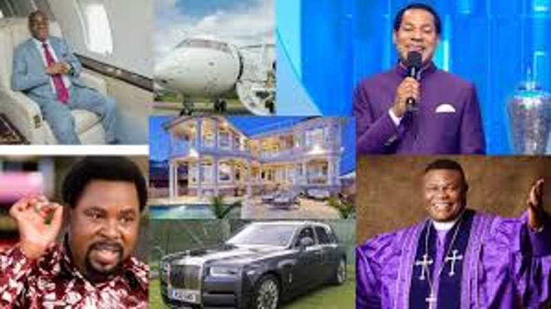 Top 5 richest Nigerian pastors