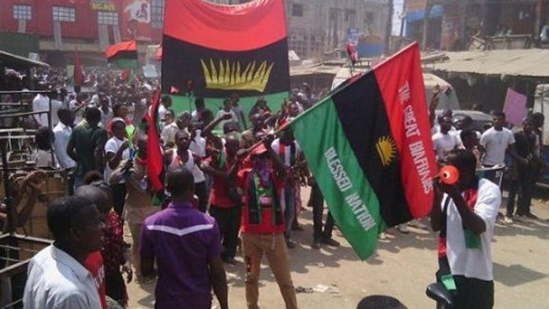 MASSOB group in south-east Nigeria