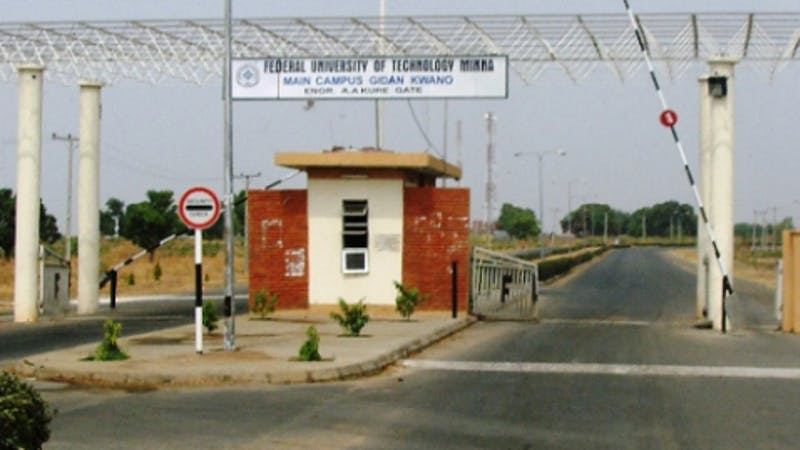 List of courses that the Federal University of Technology, Minna, FUTMINNA offers